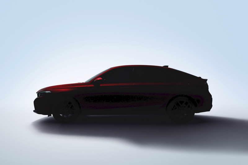 2021 Honda Civic Hatchback Teaser